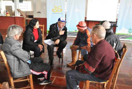 Comunidade de Estância Nova recebe o Caravana Sicredi
