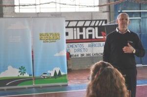 Vice-presidente, Gervásio Jorge Diel, relembrou a história da Sicredi Alto Jacuí