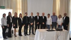 Diretoria Estratégica e Executiva da Sicredi Alto Jacuí, juntamente com gestores, colaboradores e conselheiros