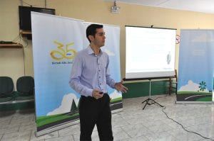 O professor e consultor Diogo Moreira ministrou a palestra
