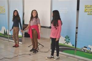 Alunos da EMEF Leonel de Moura Brizola apresentaram projeto do PUFV