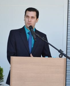 Eliandro Fiorim é o gerente da unidade