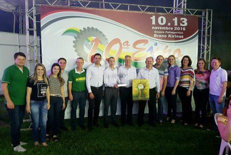 Sicredi Alto Jacuí recebe Troféu Destaque em Não-Me-Toque