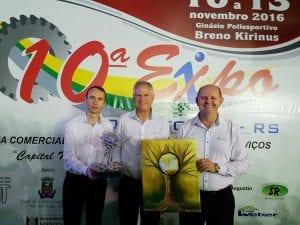 Nélio Heller, José Celeste de Negri e Gervásio Jorge Diel