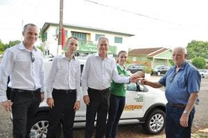 Associado Joventil Antonio Formentini recebeu a chave VW Crossfox