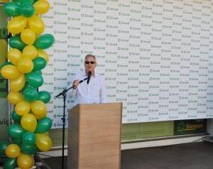 Presidente José Celeste de Negri cumprimentou quem prestigiou o sorteio