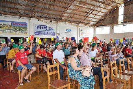 Sicredi de Almirante Tamandaré do Sul promove assembleia