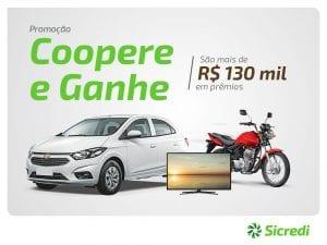 Sicredi Alto Jacuí lança a Promoção Coopere e Ganhe 2