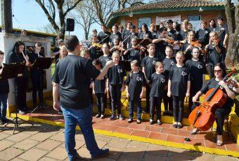 Orquestra Municipal de Victor Graeff recebe patrocínio do Programa A União Faz a Vida