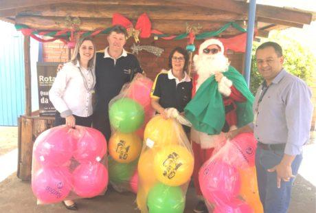 Campanha Natal Solidário arrecada doações para entidades de Não-Me-Toque
