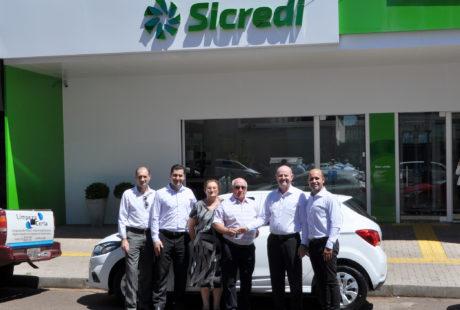 Associado da Sicredi Alto Jacuí recebe carro 0 Km