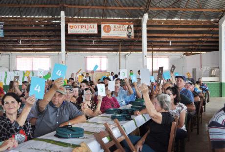 Cerca de 300 associados do Sicredi de Santo Antônio do Planalto comparecem em Assembleia