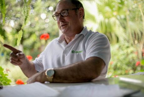 Agricultor do Norte do RS também é conhecido como Homem do Tempo