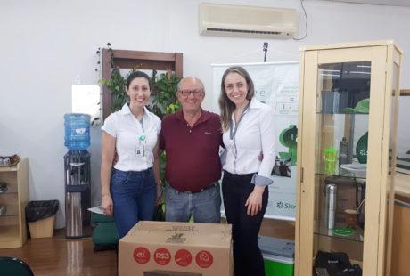 Primeiro sorteio da Promoção Coopere e Ganhe premia 20 associados da Sicredi Alto Jacuí