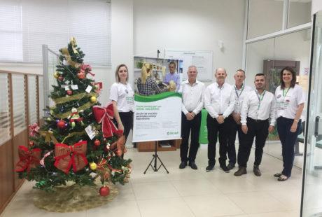 Campanha Natal Solidário arrecada 3,5 toneladas de doações em Não-Me-Toque