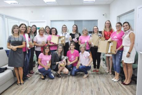 Agência Carazinho Centro da Sicredi Cooperação RS/SC promove encontro com mulheres