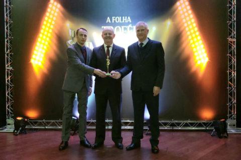 Sicredi Cooperação RS/SC recebe Troféu Imprensa na categoria Instituição Financeira