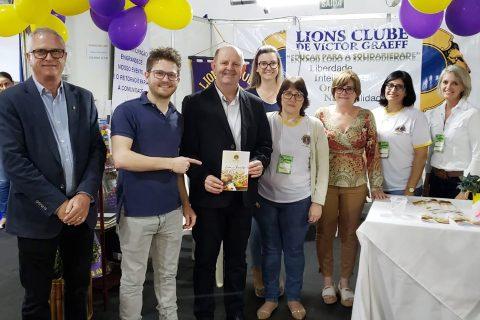 Com apoio do Sicredi, Lions Clube de Victor Graeff promove diversas ações sociais na 12ª Expovig