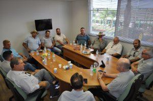 Associados e produtores do município de Pouso Redondo/SC visitaram a Casa do Sicredi