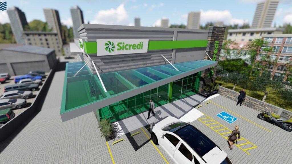 Projeto da agência do município de Taió-SC