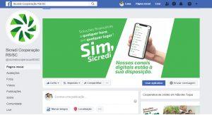 Facebook - Sicredi Cooperação RS/SC