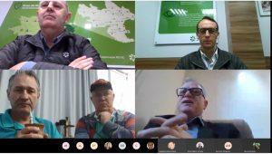 Reunião com lideranças de Taió