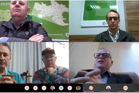 Sicredi Cooperação RS/SC realiza reunião com lideranças de Taió/SC
