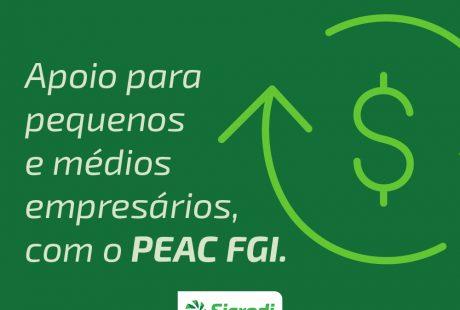 Sicredi adere ao PEAC FGI para apoiar pequenas e médias empresas impactadas pela pandemia de Covid