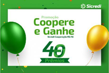 Sicredi Cooperação RS/SC lança Campanha especial de aniversário