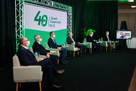 Live comemorativa conta a história da Sicredi Cooperação RS/SC
