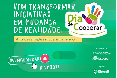 Dia de Cooperar: um dia histórico marcado pelo bem